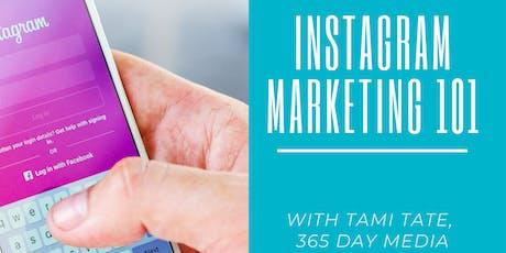 Instagram Marketing 101 tickets