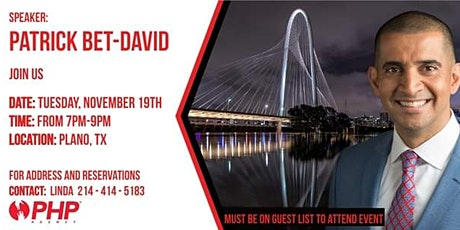 Grand Opening with Patrick Bet-David tickets