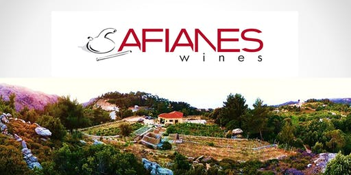 Ikarian Wine Dinner with Afianes Wine Makers