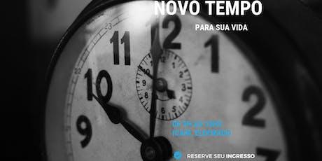 """Workshop: """"Um novo tempo para sua vida"""" bilhetes"""