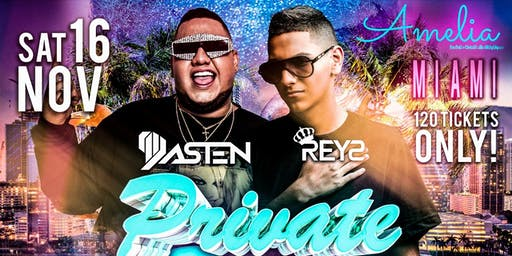 DJ Dasten & DJ Reys in Miami