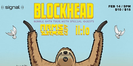 Blockhead, Arms and Sleepers & il:lo at Signal tickets