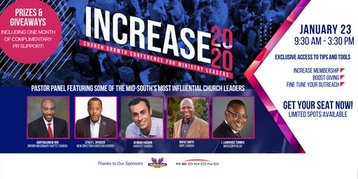 Increase 2020: Church Growth Conference