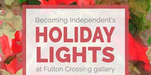 Holiday Lights Art Show