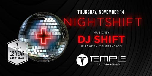 TEMPLE GUEST LIST THURSDAY NOVEMBER 14TH