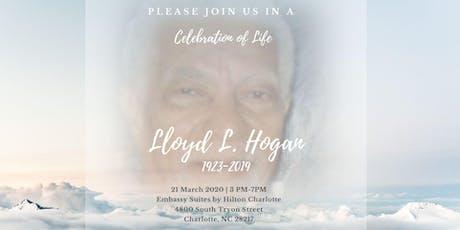 Lloyd's Celebration of Life tickets