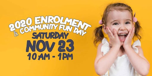 2020 Enrolment & Community Fun Day