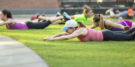 Workout on the Green with Orangetheory