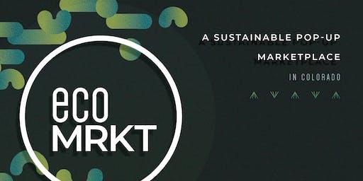ecoMRKT - a sustainable pop-up marketplace in Colorado