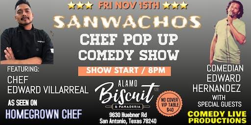 Chef Pop Up Comedy Show