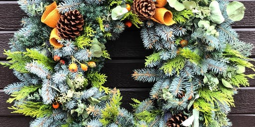 Wreath Craft and Cocktails