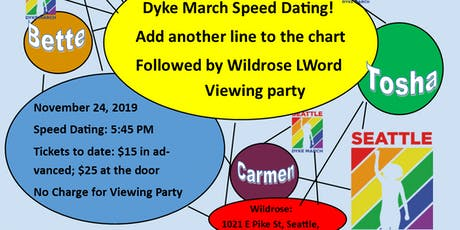 Dyke March Speed Dating: The Chart Edition tickets