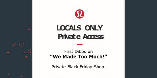 Locals Only Private Access