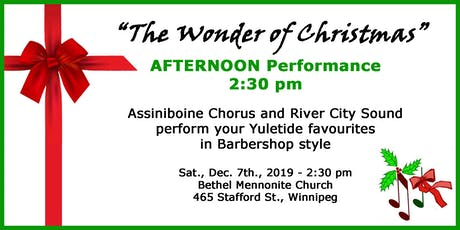 The Wonder of Christmas - Afternoon Performance tickets
