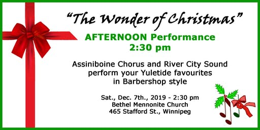 The Wonder of Christmas - Afternoon Performance