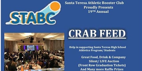 Santa Teresa Athletic Booster Club Annual Crab Feed tickets