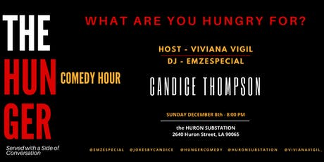 The HUNGER COMEDY HOUR - Served With A Side of Conversation tickets