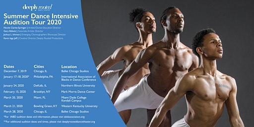 2020 Summer Dance Intensive Audition Tour