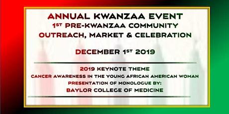 Pre-Kwanzaa Market tickets