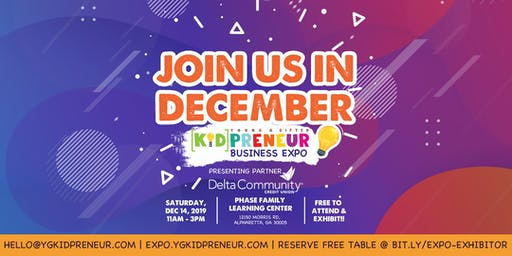 Young & Gifted Kidpreneur Business Expo
