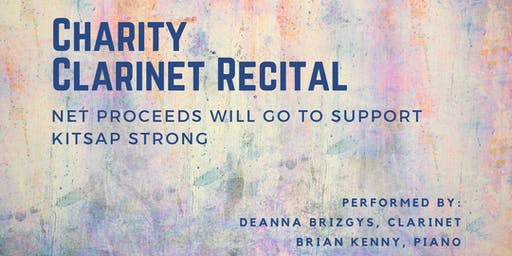 Charity Clarinet Recital