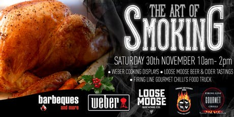 The Art of Smoking and BBQ  Christmas Workshop tickets