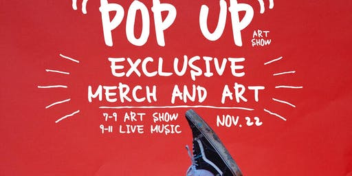 Pop Up Art Show by Cooper