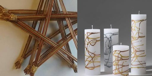 Christmas Workshop; Willow Decorations & Candle Making