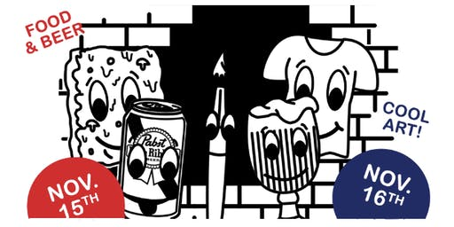 Pabst Blue Ribbon Art Presents: A Hole in the Wall Pop-Up