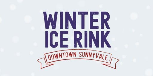 Winter Ice Rink Downtown Sunnyvale