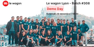 Démonstration des projets du Wagon Lyon Batch #308