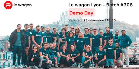 Démonstration des projets du Wagon Lyon Batch #308  billets