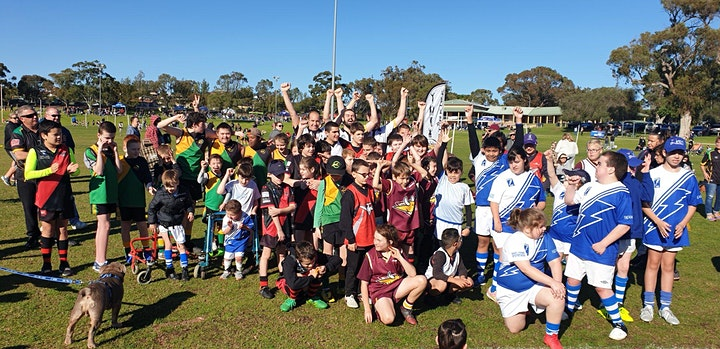 C'MON PLAY! Free Aussie Rules Football Clinic for People with Disability image