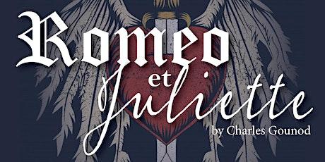 "Capitol City Opera presents Gounod's ""Roméo et Juliette"" tickets"