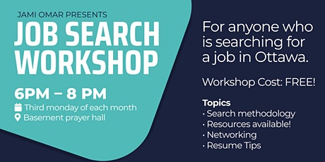Jami Omar Job Search Workshop tickets