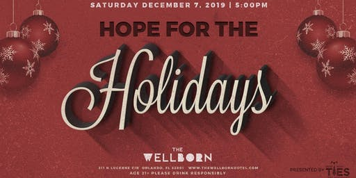Hope for the Holidays - presented by Guys with Ties Philanthropy