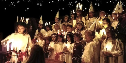 Traditional Lucia Celebration in Westport
