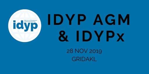 "IDYP: AGM & ""IDYPx"" short talks"