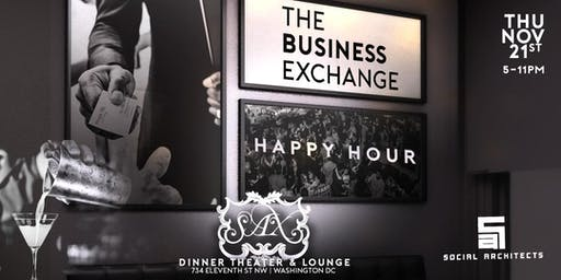 THE BUSINESS EXCHANGE HAPPY HOUR