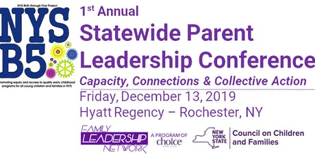 NYSB5 Statewide Parent Leadership Conference tickets