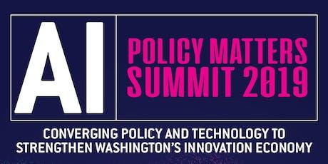 AI: Tech Alliance Policy Matters Summit 2019 tickets