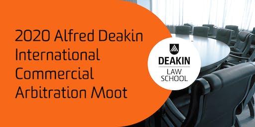 2020 Alfred Deakin International Commercial Arbitration Moot