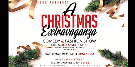 A Christmas Extravaganza - Comedy & Fashion Show tickets