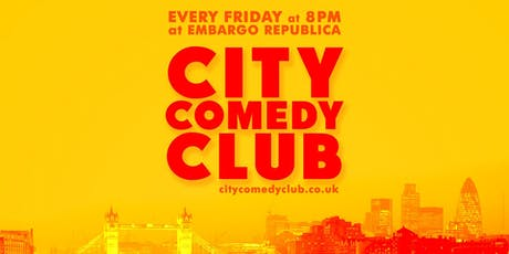 CITY COMEDY CLUB: Chelsea tickets