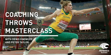 Throwing Masterclass - Discus and Shot Put with Denis Knowles and P Taylor tickets