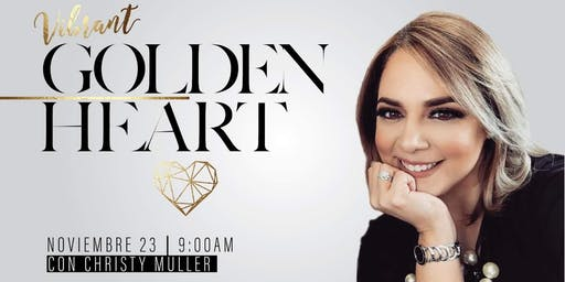 Vibrant: Golden Heart - Christy Muller