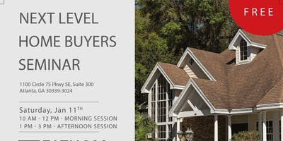 Next Level Home Buyers Seminar