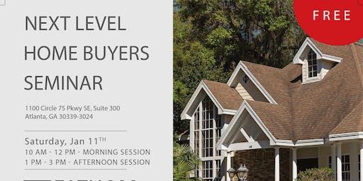 Next Level Home Buyers Seminar