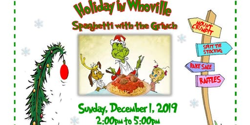 Holiday in Whoville - Spaghetti with the Grinch