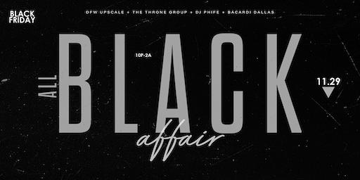 3rd Annual All Black Affair @ The House of Blues {Foundation Room}